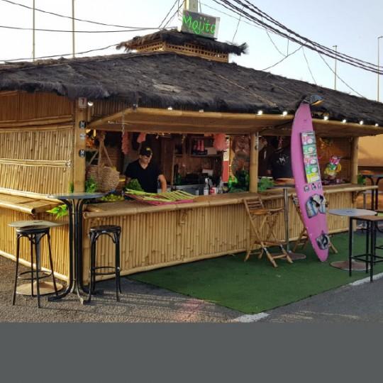 bali bar roof