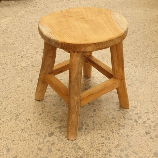 wood stool Fuerteventura